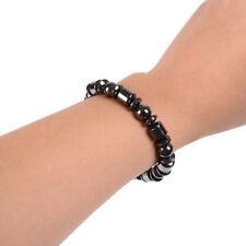 Popular Black Magnetic Slimming Bracelet Bead Hematite Stone Therapy Health Care