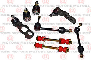 Fits Ford Crown Victoria 98-02 Front Lh Rh Upper Lower Ball Joints Sway Bar Link