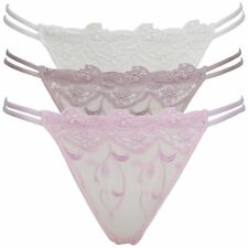 Daniel Axel Ladies Sheer Mesh Lace Tanga G-String Thong