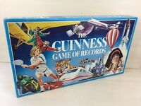 VINTAGE THE GUINNESS GAME OF RECORDS - BOXED 100% COMPLETE EXCELLENT CONDITION