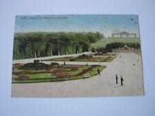 AK  WIEN Schönbrunn Parterre mit Gloriette - s/w - gel.28.6.11 - Color - Kleinf.