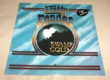 Freddy Fender Swamp Gold Sealed LP w/ Talk to Me I'm Leaving it All up to You