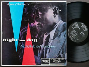 CHARLIE PARKER Night And Day LP VERVE RECORDS MG V-8003 US 1957 JAZZ DG MONO