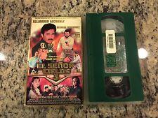 EL SENOR DE LOS CIELOS 3 LA GRAN FUGA RARE VHS 1998 SPANISH ALEJANDRO ALCONDEZ!