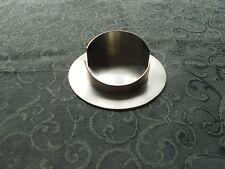 Kerzenhalter silber für Kerzen Durchmesser 7 cm