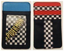 NEW! Marvel Comics Slim Clip ID Card Wallet: Checker Fox 90's Spider-Man Logo!