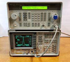 Hp Agilent Keysight 8591e Spectrum Analyzer 9khz 18ghz Fully Tested 2