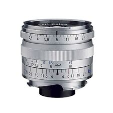 Zeiss Biogon T* 28mm F/2.8 ZM Lens For Leica Silver, Boxed
