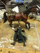 Lord of the Rings Two Towers Aragorn and Brego horse deluxe set