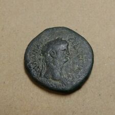 Emperor Claudius 41-54 AD - 26MM AE Diobol of Alexandria Egypt - Year 13 - Eagle