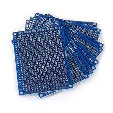 10pcs Panneau PCB Prototype Double Face Universel Carte de Circuit Imprime WT