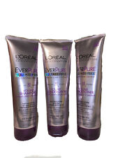 L'Oreal Paris Hair Care Ever Pure Volume Conditioner, 8.5 Fluid Ounce (LOT OF 3)
