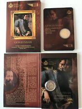 "2 Euro commemorativi 2011 ""Giorgio Vasari""in Folder: San Marino""ULTIMO!!!LEGGI"""