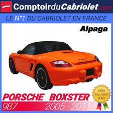 Capote Porsche Boxster type 987 cabriolet en - Alpaga Sonnenland A5