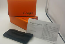 Latest Google Cardboard V2 Orange Color with Head Strap, VR