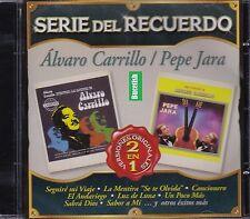 Alvaro Carrillo Pepe Jara Serie del Recuerdo Versiones Originales 2EN1 CD NEW