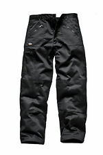 Dickies Wd814 Redhawk Action Trousers Black 34r