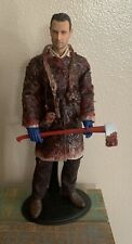 Custom 1/6 The Walking Dead Rick Grimes Zombie Figure Set! U.S. Seller! Rare!