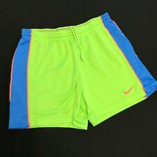 Nike Dri Fit Shorts in Fun Day-Glo Neon Colors, Great Condition! 26 in Waist, S