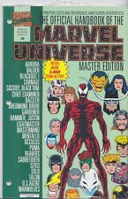 OFFICIAL HANDBOOK OF THE MARVEL UNIVERSE Master Edition (1990) #29 - Back Issue