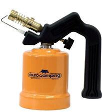 Saldatore a gas cannello EUROCAMPING 1650W cartuccia 190 gr per saldatura