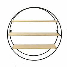 Floating Circle Shelves Storage Display Shelf Fixings Included M&W
