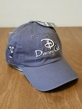 Disney Golf AHead Strapback Mickey Mouse Hat Old Stock Baseball Cap New w/ Tags