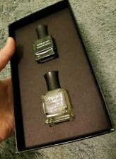 NEW! Deborah Lippmann Gift box EDGE OF GLORY ~ Black Base & Flakie Holographic