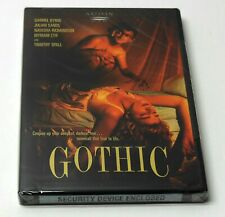 GOTHIC 1986 DVD Artisan OOP NEW SEALED Classic 80's HORROR Ken Russell FAST SHIP