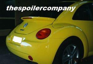 UNPAINTED OE LOOK REAR SPOILER FOR 1998-2011 VW VOLKSWAGEN NEW BEETLE BUG W/LED