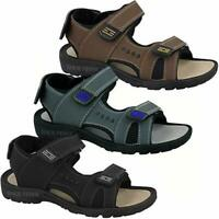 Mens New Open Toe Summer Sandals Walking Hiking Sports Beach Holiday Shoes S7-12