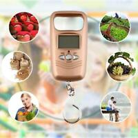 50Kg Digital LCD Hanging Luggage Fish Scale Electronic BEST AU F9R6 Weight O2N3