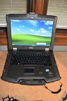 Military Dell Latitude E6400 XFR P8700 2.53G 4GB 80GB HDD Windows XP Touchscreen