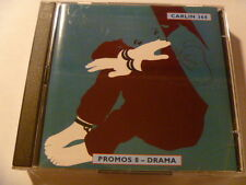 2CD PROMOS 8 DRAMA 368 CARLIN RARE LIBRARY SOUNDS MUSIC CD