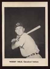 1961 Cleveland Indians Jay Photo Set (12) EXMT