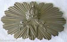 Cuivrerie Plaque de Giberne Second Empire Napoléon III authentique France