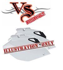 SIDE PANELS YAMAHA YZF250/426 00-02, WRF250 01-03, WR400 98-00, BLACK, WHITE