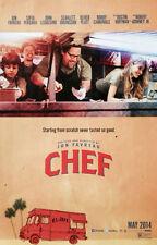 CHEF Movie Poster - Cast Medium Size 11x17 Print ~ Jon Favreau Sofia Vergara