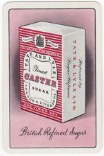 Playing Cards 1 Single Swap Card - Vintage TATE & LYLE Advertising CASTER SUGAR