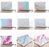 "Macbook Air Pro 11 12 13 15 16"" Marble Hard Shell Case Keyboard Cover Skin CS"
