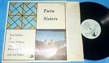 Vivian Williams & Barbara Lamb - Twin Sisters NW Fiddle Music LP NM