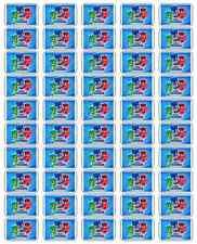 "50 PJ Masks Envelope Seals / Labels / Stickers, 1"" by 1.5"""