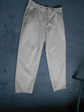 "Marks and Spencer Chinos Stone Beige Waist 36"" Leg 31"" 100% Cotton"