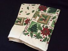 Holiday Kitchen Hand Towels Bd Kitchen Works Nwot beautiful sparkly