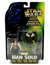 Star Wars Power of The Force (Euro) - Deluxe Han Solo & Smuggler Flight Pack Set