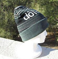 doterra Essential Oils SKI CAP beanie winter hat gray black NEW striped gift