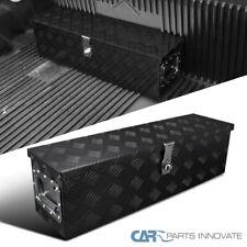 "31""x 9"" Truck Pick-up Black Aluminum Tool Box w/ Handle & Lock Trailer Storage"