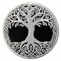 Embroidered Patches Iron Sew On Patches transfers Badges appliques Tree of Life