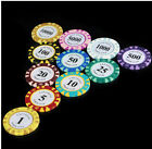 Entertainment chip Texas poker chips 15pcs