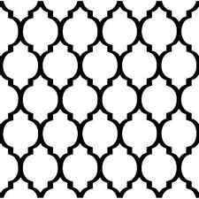 Casablanca Stencil Design - Craft Template- By Cutting Edge Stencils